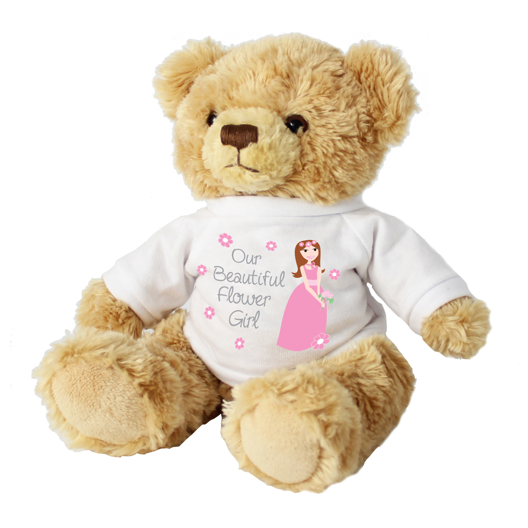 Fabulous Flower Girl Teddy Find The Perfect Gift